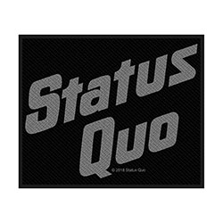 Status Quo Standard Patch: Logo (Loose)