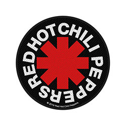 Red Hot Chili Peppers Standard Patch: Asterisk (Loose)