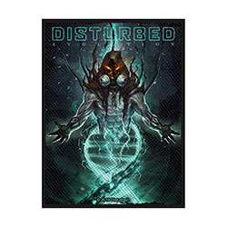 Disturbed Standard Patch: Evolution Hooded (Loose)