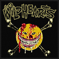 The Wildhearts Standard Patch: Smiley Face (Loose)