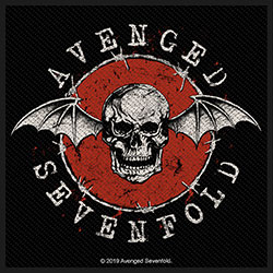 Avenged Sevenfold Standard Patch: Distressed Skull (Loose)