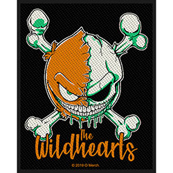 The Wildhearts Standard Patch: Green Skull (Loose)