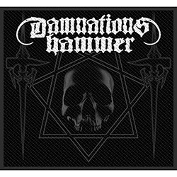Damnation's Hammer Standard Patch: Hammers & Skull (Loose)