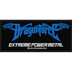 Dragonforce Standard Patch: Extreme Power Metal (Loose)