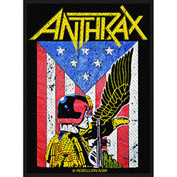 Anthrax Standard Patch: Judge Dredd (Loose)