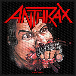 Anthrax Standard Patch: Fistful of Metal (Loose)