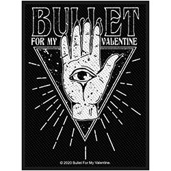 Bullet For My Valentine Standard Patch: All Seeing Eye