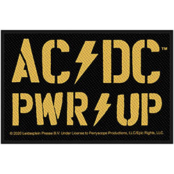AC/DC Standard Patch: PWR-UP