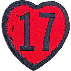 The Sex Pistols Standard Patch: 17 Heart