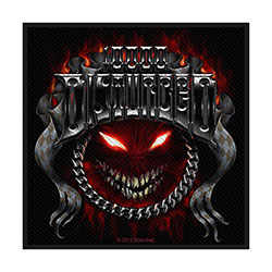 Disturbed Standard Patch: Chrome Smiley (Retail Pack)