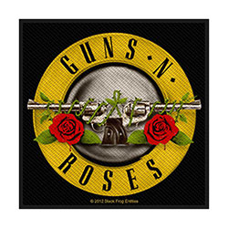 Guns N' Roses Standard Patch: Bullet Logo (Retail Pack)
