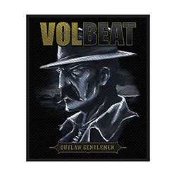 Volbeat Standard Patch: Outlaw Gentlemen (Retail Pack)