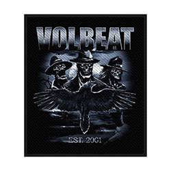 Volbeat Standard Patch: Outlaw Raven (Retail Pack)