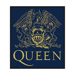 Queen Standard Patch: Crest (Retail Pack)