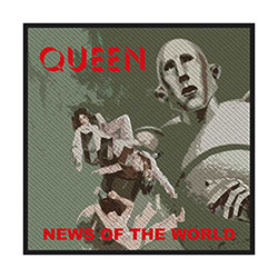 Queen Standard Patch: News of the World (Retail Pack)
