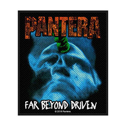 Pantera Standard Patch: Far Beyond Driven (Retail Pack)