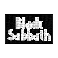 Black Sabbath Standard Patch: Logo (Retail Pack)