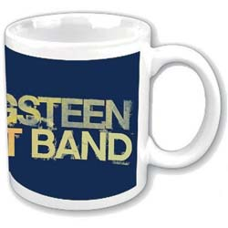 Bruce Springsteen Boxed Standard Mug: Yellow Logo