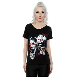 DC Comics Ladies Tee: Suicide Squad Harley Quinn Puddin (XX-Large)
