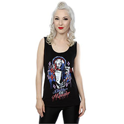 DC Comics Ladies Tee Vest: Suicide Squad Harley Quin Daddy's (X-Large)