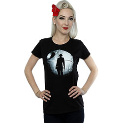 Star Wars Ladies Tee: Rogue One Death Star Vader Silhouette (XX-Large)