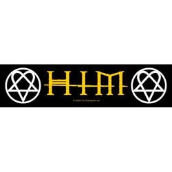 HIM Super Strip Patch: Logo / Heartagram