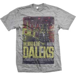 StudioCanal Men's Tee: Dr Who & The Daleks