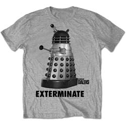 StudioCanal Men's Tee: Dr Who Exterminate