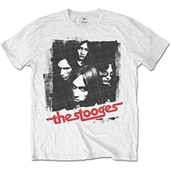 Iggy & The Stooges Men's Tee: Four Faces