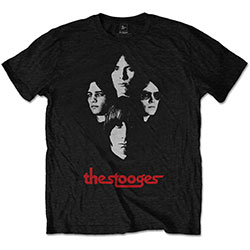 Iggy & The Stooges Men's Tee: Group Shot
