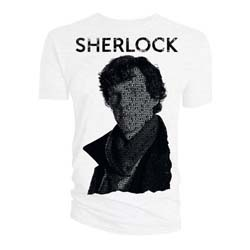 Sherlock Men's Tee: Psychopath Words  (Large Only)