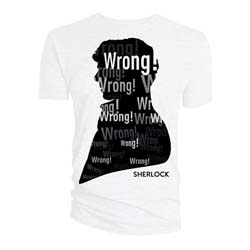 Sherlock Men's Tee: Wrong Profile