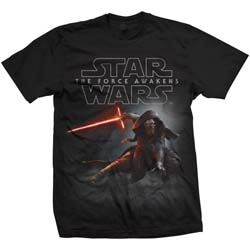 Star Wars Men's Tee: Episode VII Kylo Ren Crouch