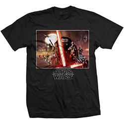 Star Wars Unisex Tee: Episode VII Collection