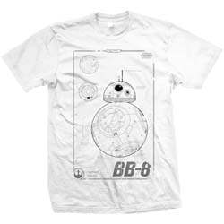 Star Wars Unisex Tee: Episode VII BB-8 Tech