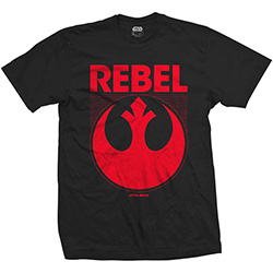 Star Wars Unisex Tee: Episode VII Rebel