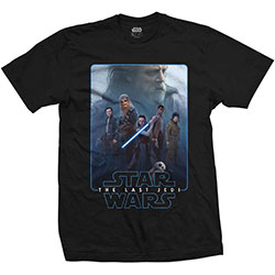 Star Wars Unisex Tee: Episode VIII The Force Composite