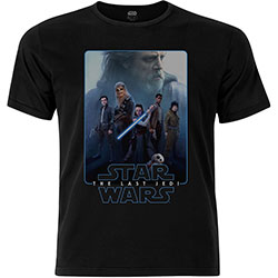 Star Wars Unisex Premium Tee: Episode VIII The Force Composite