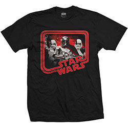 Star Wars Unisex Tee: Episode VIII Phasma Retro