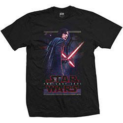 Star Wars Unisex Tee: Episode VIII Kylo Pose