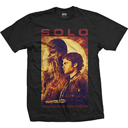 Star Wars Unisex Tee: Solo Profile