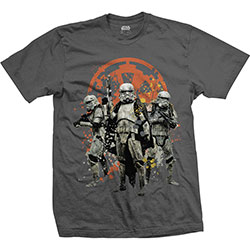 Star Wars Unisex Tee: Solo Troopers Comp