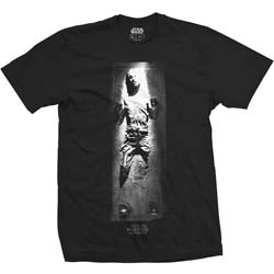 Star Wars Unisex Tee: Han in Carbonite