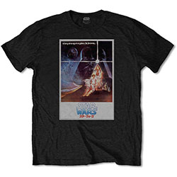 Star Wars Unisex Tee: Old School Japanese