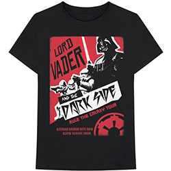 Star Wars Unisex Tee: Darth Rock Two