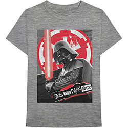 Star Wars Unisex Tee: Darth Rock Three