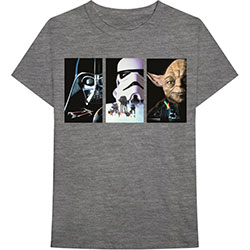 Star Wars Unisex Tee: Tri VHS Art