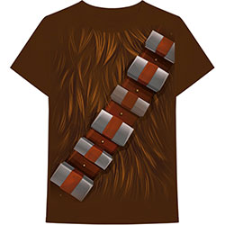 Star Wars Unisex Tee: Chewbacca Chest