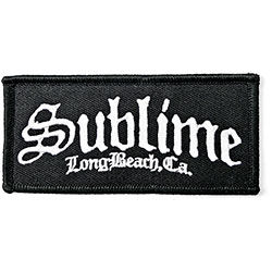 Sublime Standard Patch: C.A. Logo