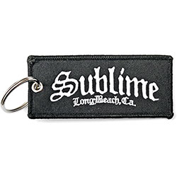 Sublime Keychain: C.A. Logo (Double Sided Patch)